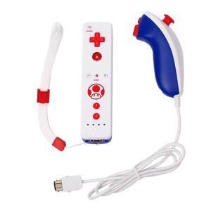 Image 1 - Contrôleur de manette à distance sans fil uilt in Motion Plus pour nintention Wii Nunchuck pour nintention Wii télécommande Joystick Joypa