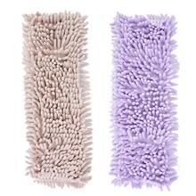 Zerodis многоразовые швабры колодки ткань-плоские сменные головки для влажной или сухой уборки пола дома кухня ламинат керамическая плитка