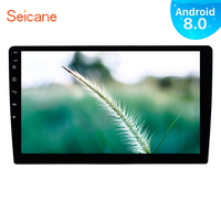 Seicane GPS Navigation Stereo 1Din Android 8.0/8.1 10 inch Universal Car Radio Touchscreen Head Unit Multimedia Player 4G WIFI