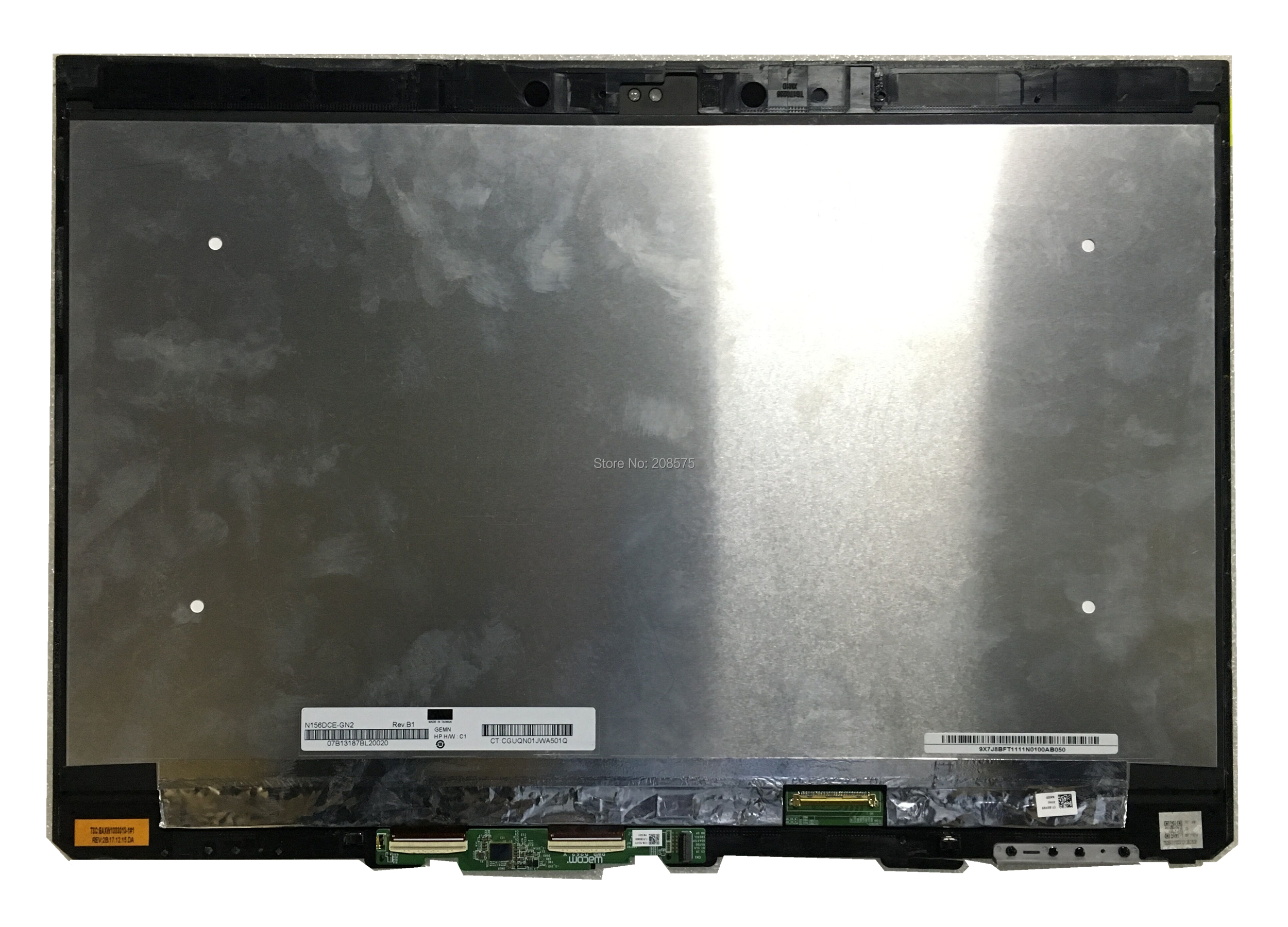 US $150 0  Free shipping 15 6''LCD Assembly Touch Screen Digitizer Laptop  For HP N156DCE GN2 4K Laptop Lcd Screen replacement Assembly-in Laptop LCD