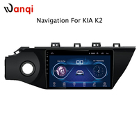 10.1inch Car Dvd player and Android 8.1 car cps navigator with BT carplay for KIA Rio K2 2017 GPS Audio Radio Video Bluetooth