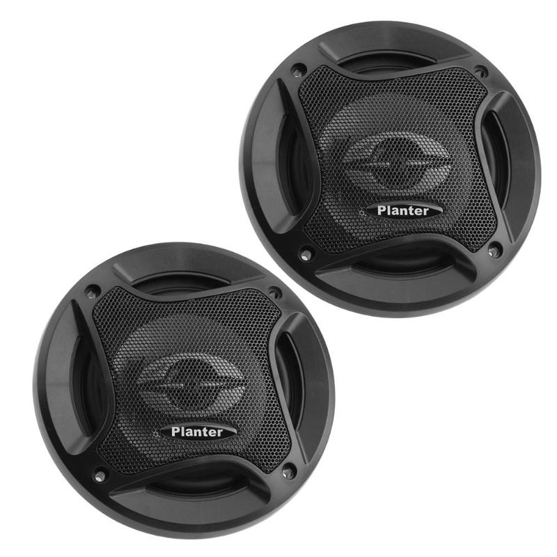 1 Pair 5 inch 300W rubber+ metal Car Audio Coaxial