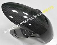 Hot Sales,Carbon Fiber Front Fender Mudguard For Suzuki GSXR1000 K5 K7 2005 2008 / GSXR600 GSXR750 K6 K8 2006 2010 Fairing Parts