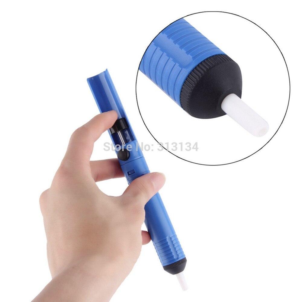 Синий Антистатический припой присоски отпайки насос инструмент удаления Вакуумный паяльник Оловянная выпайка для печатных плат электронное устройство