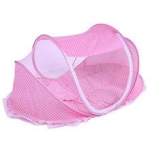 Складная Колыбелька детская сетка кровать подушка для сна портативная кроватка Складная противомоскитная сетка для насекомых кровать