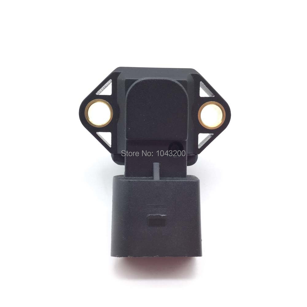 0281002177 Brand new factory G31 Turbocharger Boost Sensor 2 5 bar MAP Sensor For Audi VW 1 8T 1 9 ALH TDI diesel 038906051 in Pressure Sensor from Automobiles Motorcycles