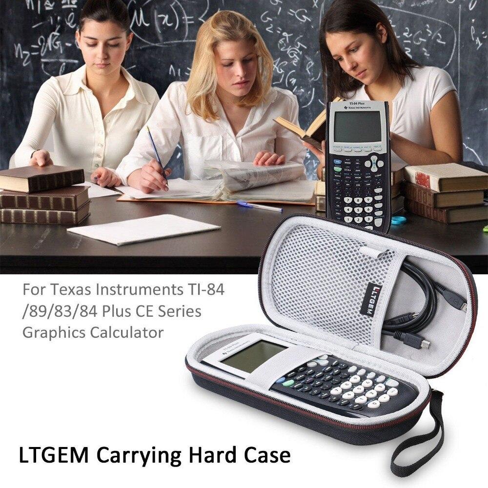 Жесткий чехол для путешествий LTGEM EVA, защитный чехол для техасских инструментов, графический калькулятор на основе стандарта CE, для хранения...