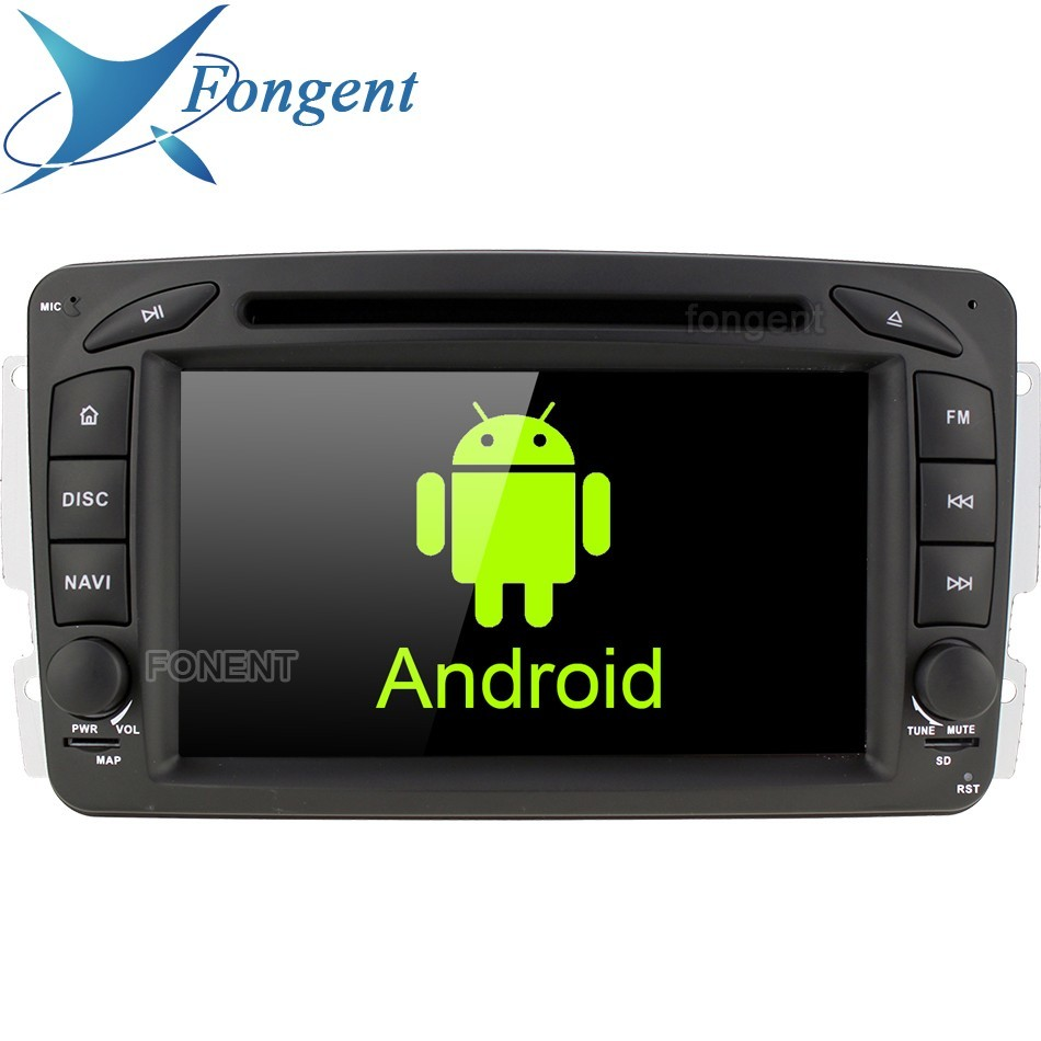 Android Radio Stereo Unit Multimedia <font><b>GPS</b></font> DVD <font><b>for</b></font> <font><b>Mercedes</b></font> Benz C180 <font><b>C200</b></font> C220 C230 C240 C270 C280 C300 C320 C350 C32 C55 AMG image