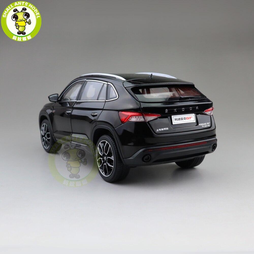 1/18 فولكس فاجن سكودا KODIAQ GT SUV دييكاست المعادن SUV سيارة نموذج هدية هواية جمع الأسود-في سيارات لعبة ومجسمات معدنية من الألعاب والهوايات على  مجموعة 2