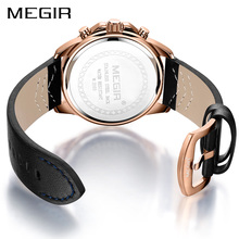 Erkek Kol Saati MEGIR Watch Men Fashion Sport Quartz Mens Watches Top Brand Luxury Military Watch Relogio Masculino Zegarek Mesk