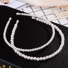 Elegant Crystal Full Pearl Hair Bands Headband Hair Accessories Ornaments Head Wear Hoop for Women Girls Children Birthday Gift(China)