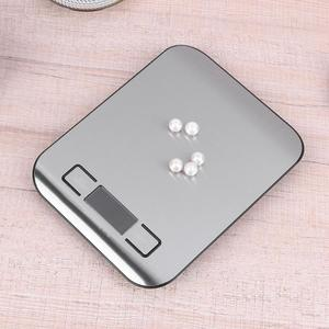 Image 5 - 5kg/1kg Digital Kitchen Scale Cooking Measure Tools Stainless Steel Electronic Weighing Tool LCD Electronic Bench Weight Scales