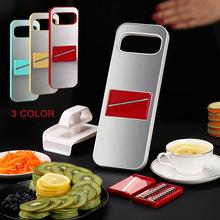Magnetic Slicer 3-in-1 Stainless Steel With Finger Vegetable Fruit Julienne Cutter Food Kitchen Grater Tool