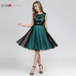 Сексуальные коктейльные платья контрастного цвета, короткие красивые вечерние платья трапециевидной формы без рукавов, элегантные вечерн...