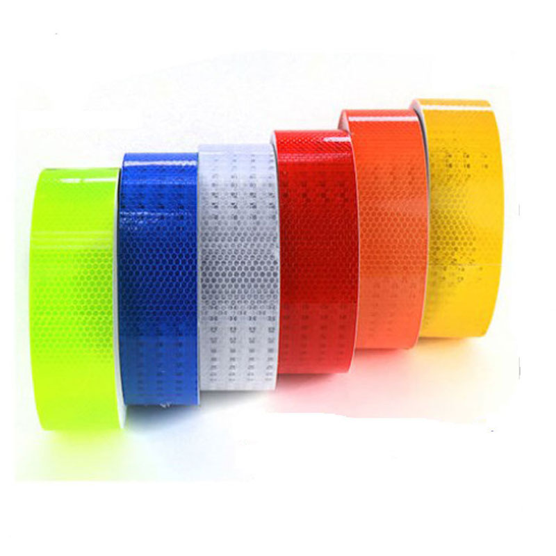 High Visibility 5cm*40m Reflective Strip Safety Reflective Material Warning Reflective Tape Safety Traffic Signs For Car Truck