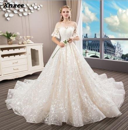 Luxury Dresses Xnxee Abiye Arabic Muslim Beaded Formal Prom Gowns Abendkleider robe de soiree longue 2018 Xnxee-in Dresses from Women's Clothing    1