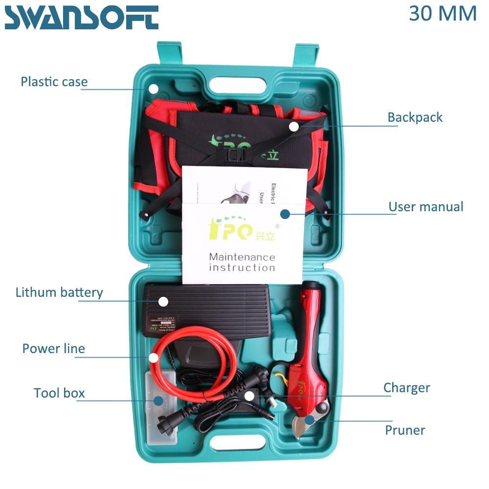 WSP-1 elétrica tesouras de poda, tesoura top vender, frutas árvore podador, videira, kivi, apple, podador de pêra
