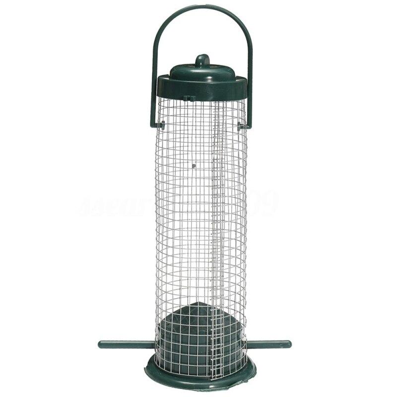 Bird Feeder Park Bird Supplies Pet Products Bird Wild Outdoor Garden Hanging Ports Seed Plastic Feeder