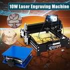 10W USB Desktop DIY Metal Stone Wood CNC Laser Engraver Marking Engraving Machine Engraving Wood Router Area 20 x 14 cm