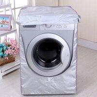 New 2019 Washing Machine Dryer Cover Zippered Roller Dustproof Sunscreen Waterproof|Washing Machine Covers|Home & Garden -
