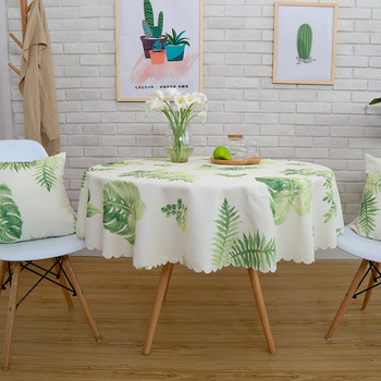 Waterproof Printed Tablecloth Round Table Cover Tea Table Cloth Rural Rectangular Cover Cloth Home Decoration 3d white lily flowers pattern tablecloth wedding decoration thicken cloth round table cloth waterproof rectangular table cover