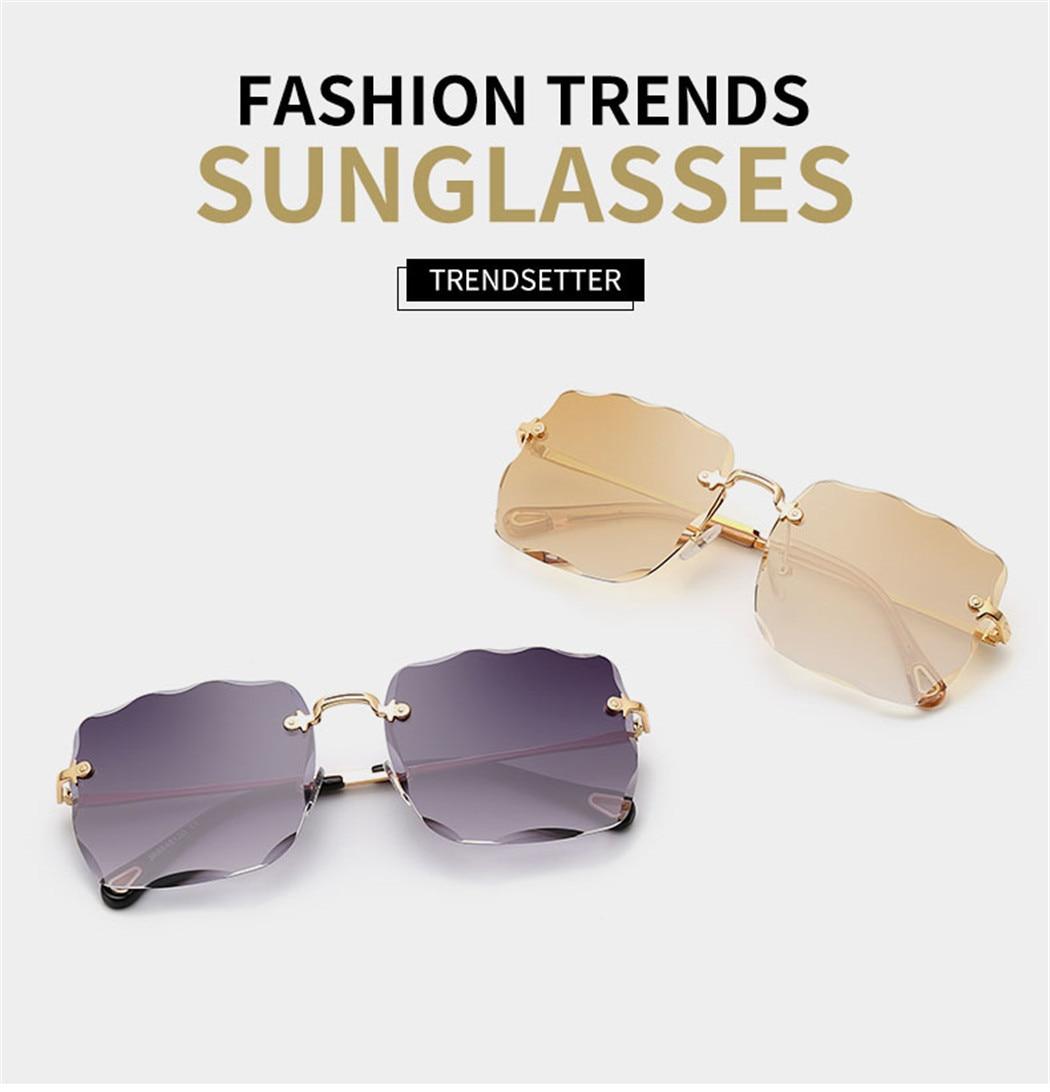 UV400 Shades Geometric Polygon Square Metal Frame Sunglasses Outdoor Eyewear