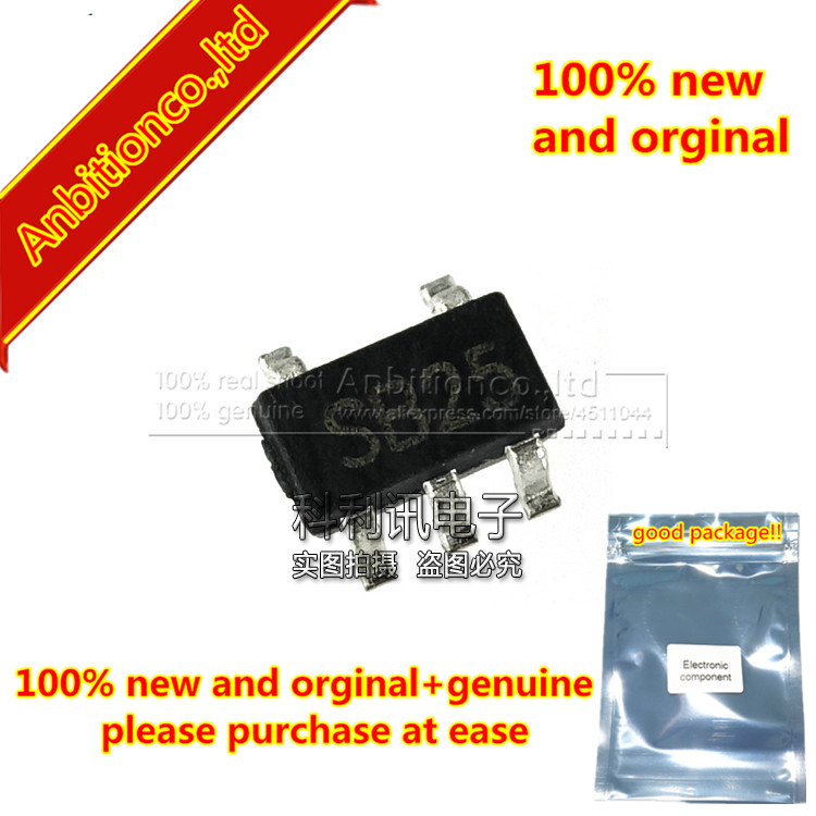 10pcs new and orginal MCP606T-IOT 2.5V to 6.0V Micropower CMOS Op Amp silk-screen SB in stock