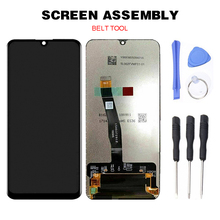 цена на LCD Display Touch Screen Digitizer Replacement + Tools for Huawei P smart 2019 LCD Display Replace Digitizer Tools With Frame