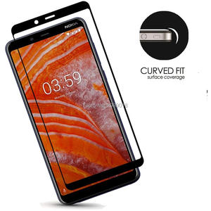 Image 2 - 3D For Nokia 3.1 Plus Full cover Tempered Glass Screen Protector film 6 inch 9H Safety Film On 3.1+ 3.1Plus TA 1118 Nokia3.1