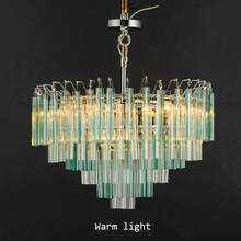 Modern Crystal Chandelier Living Room Lustres De Cristal Decoration Tiffany Pendants Chandeliers Home Lighting Indoor Decor Lamp