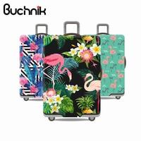 Серия Фламинго защитный чехол для багажа мужские женские эластичные чемоданы Дорожный Чехол Famale тележка пылезащитные Чехлы против дождя а...