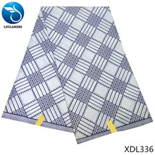 LIULANZHI african wax polyester dutch fabric 2018 6 yard for daily clothes XDL331-XDL336