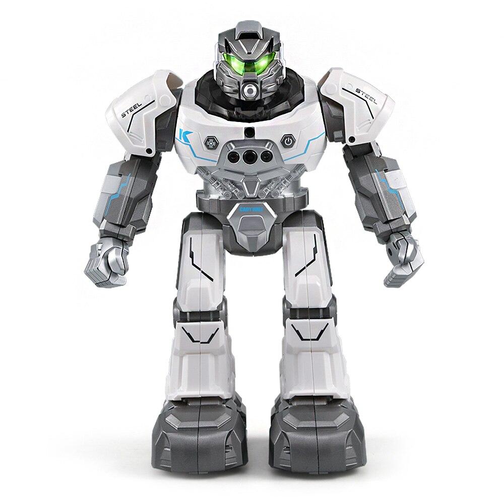JJR/C JJRC R5 шелк-кади WILI SmartWatch Интеллектуальный программирования образования RC робот Авто следовать жест Управление детские игрушки сине-белы...