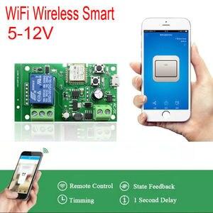 dc 5V-12V Sonoff WiFi Wireless