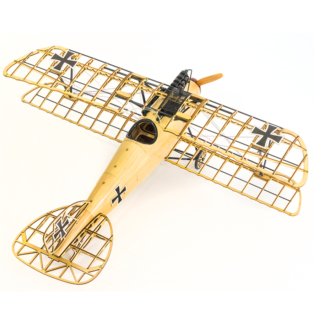 Dancing Wings Hobby VS02 1/15 Wooden Static Airplane Model Display Replica 500mm Craft Wood Furnishing Gift for Children