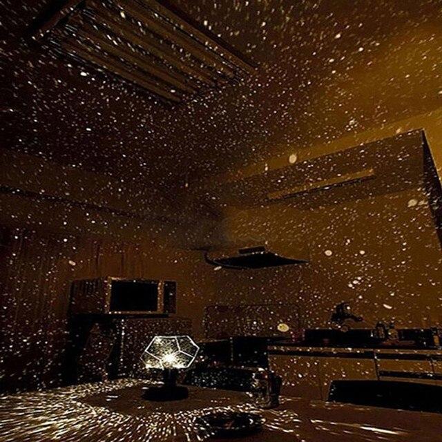 Proyector LED de Star Master Night Light, lámpara LED con proyector de estrellas, proyección del cielo y astros, luces led de noche Cosmos, regalo para chico, decoración para el hogar