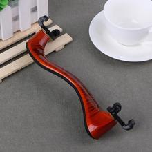 1 шт., регулируемые винные красные резиновые скрипки, наплечная подкладка для 3/4, 4/4 Размер, части и аксессуары для скрипки, музыкальные инструменты