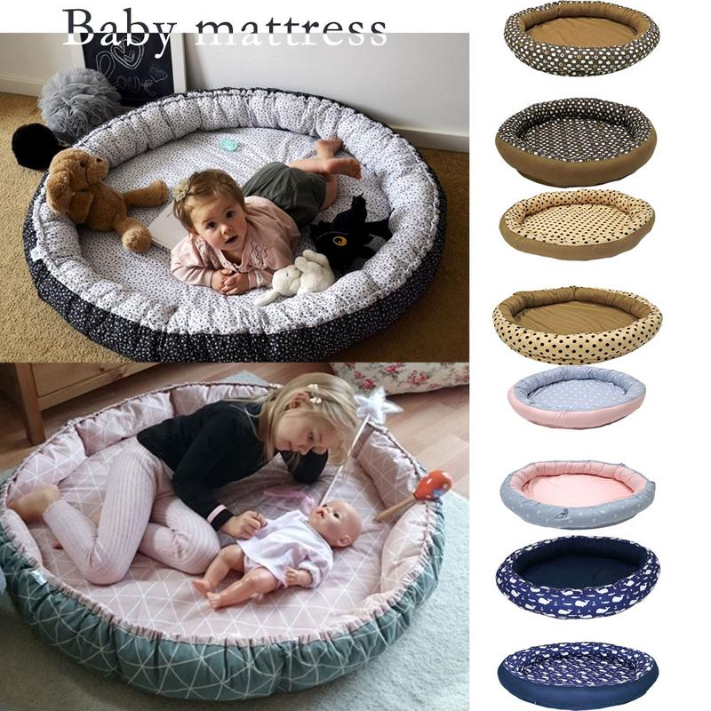 Portabel Baby Nest Bed Newborn 0-5 Years Old Super Large Newborn Baby Bionic Bed Multifunctional Play Cushion Bed Crawling MatPortabel Baby Nest Bed Newborn 0-5 Years Old Super Large Newborn Baby Bionic Bed Multifunctional Play Cushion Bed Crawling Mat