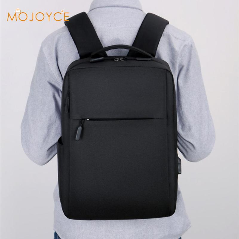 15.6inch Laptop Men Backpacks Business Casual Large Capacity Square Nylon Backpack Rucksacks Large Capacity Backpack Rucksacks