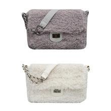 6ed3500fca Winter Faux Fur Crossbody Bags Cute Sling Messenger Bag Women Casual Simple  Shoulder Handbags for Teenage