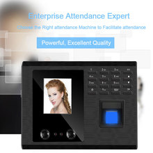 Biometric Face Facial Recognition Fingerprint Attendance System USB Fingerprint Reader Time Clock Employee Attendance Machine цена в Москве и Питере