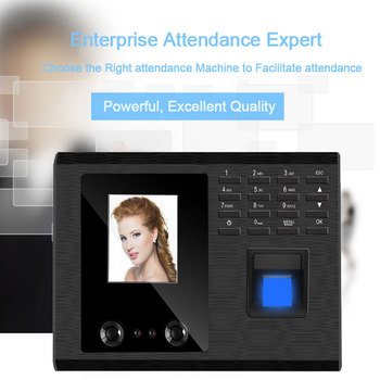 Biometric Face Facial Recognition Fingerprint Attendance System USB Fingerprint Reader Time Clock Employee Attendance Machine biometric reader zk4500 sdk fingerprint scanner zk4500 fingerprint reader support sdk development in stock