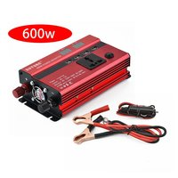 Professional 600W Power Inverter DC to AC LED Display Home Fan Cooling Car Converter for Household Appliances Plug and Play