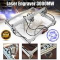 50*65 см мини 3000 мВт синий лазерный гравировальный гравер машина DC 12V DIY настольный по дереву резак/принтер/мощность регулируемый + лазер