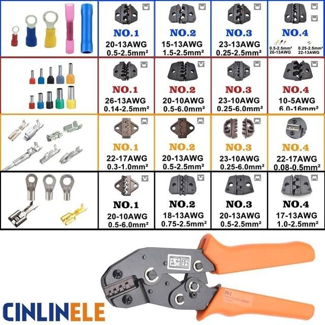 Crimping Tool Wiring Crimp Pliers Bare Insulation Ratchet Terminals Multitool Portfolio Tools Insulation SNB RNB RV SV VE TE BHT