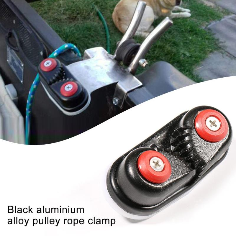 FLASH SALE] Black Anodized Aluminium Cam cleat Boat Cam