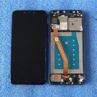 Original For 6.3 Huawei Nova 3i P Smart+ (P Smart Plus) INE LX1 L21 Axisinternational LCD Display Screen+Touch Digitizer Frame