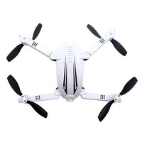 Folding WiFi FPV RC Quadcopter Drone With 720P Camera White Front LED Lights Red LED Behind Lights 3D Rollover Helicopters Toys