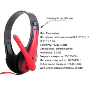 Image 5 - Portable Earphones E sports Gaming Headphones Stereo Hd Bass Sounds Surrounding Music Devices With Mic 3.5MM Wired Comfortable