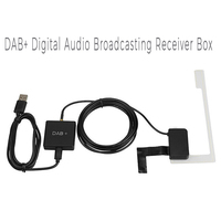 DAB+ Digital Audio Broadcasting Receiver Box USB Adapter Digital Radio Antenna Tuner FM Transmission for Android 5.1 and Above